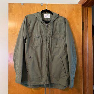 Ashley Outerwear Olive Utility Jacket